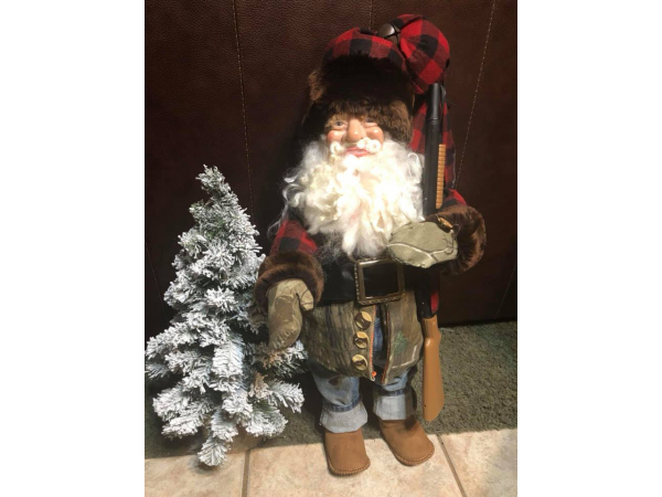 The Woodsman Santa