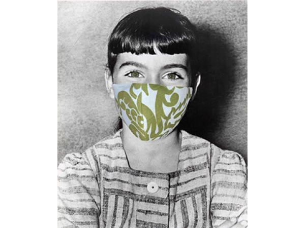 Debbie as Marta von Trapp Masks