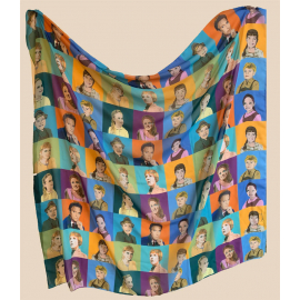 The Family von Trapp Chiffon Blend Scarf