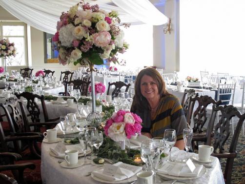 Debbie Turner at  the Wayzata Country Club