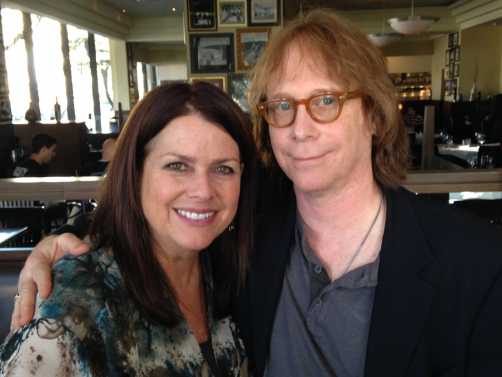Debbie with Billy Mumy