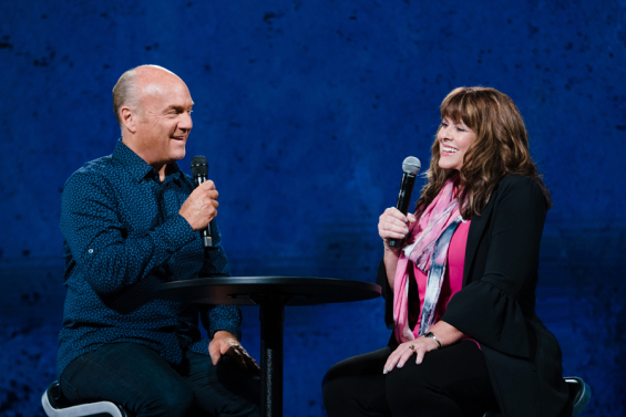Interview of Pastor Greg Laurie and Debbie Turner