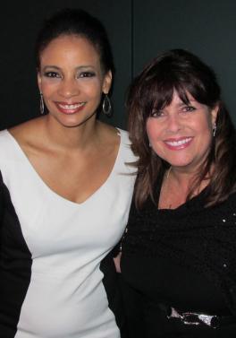 With Lauren Green