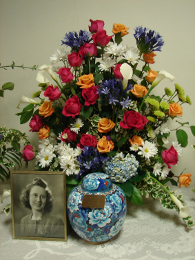 Memorial Flowers, Mother