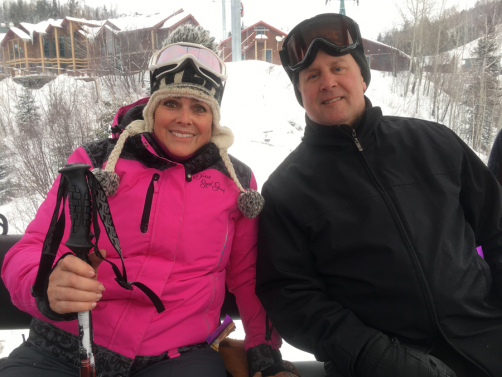 Skiing with my Honey
