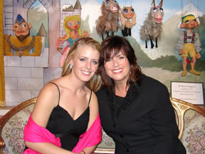 My daughter, Brooke and me