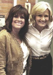 With Diane Sawyer