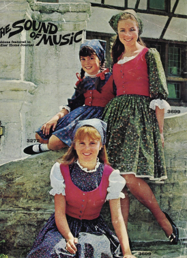 Butterick Sound Of Music Patterns