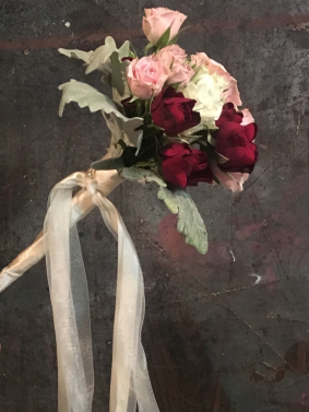 Flower Girl's Wand of Flowers