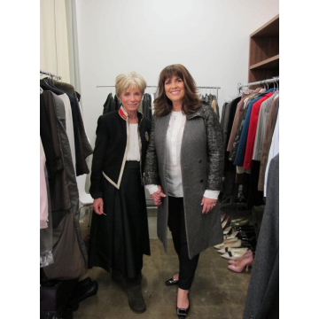 Charmian & me at the Vanity Fair shoot