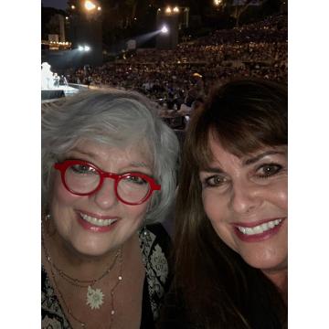 Angela Cartwright and me at the Hollywood Bowl 2019