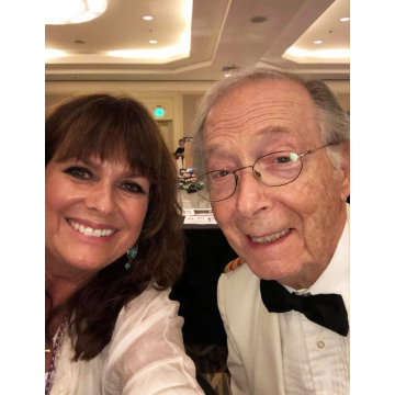 With Bernie Kopell