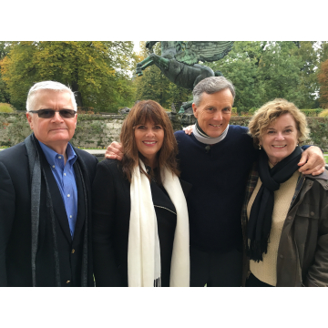 Duane, Debbie, Nicholas & Heather Salzburg 2015