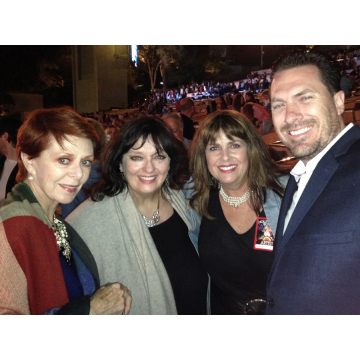 Karen Cadle, Angela Cartwright & Lance Kirkland