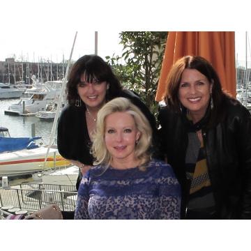 Angela, Kym & Debbie at Marina Del Rey