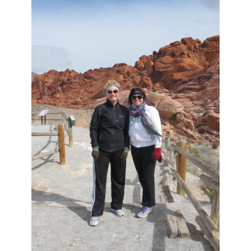 Hiking in Red Rock