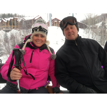 Skiing with my Honey