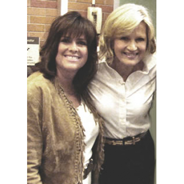 With Diane Sawyer