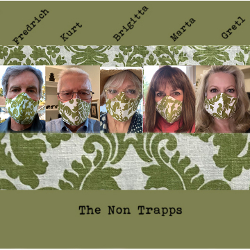 Masks Made From Drapes - Large